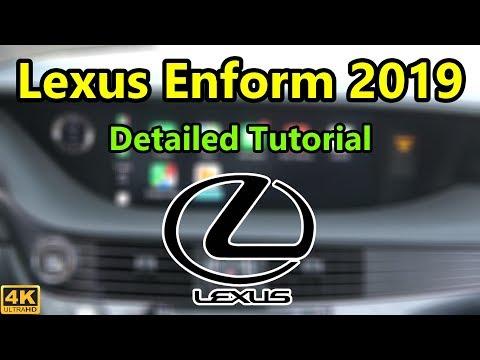 Lexus Enform Infotainment 2019 Detailed Tutorial And Review: Tech Help