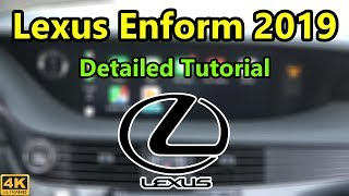 Lexus Enform Infotainment 2019 Detailed Tutorial and Review: Tech Help