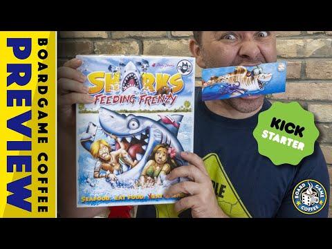Sharks Feeding Frenzy Kick-starter Preview
