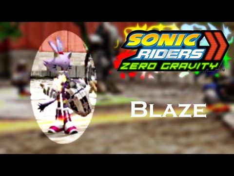 Sonic Riders Zero Gravity WGP - Blaze