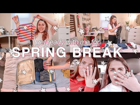 SPRING BREAK PREP!! Clothing Haul, Nails Done, & Packing 🛍💅🏻🛩 Spring Break In Hilton Head, SC