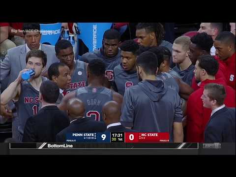 2017.11.29 Penn State Nittany Lions at NC State Wolfpack Basketball