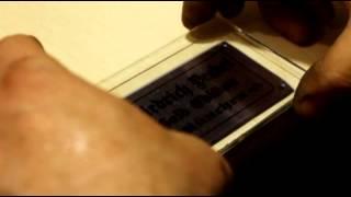 видео Алюминиевые шильды изготовление