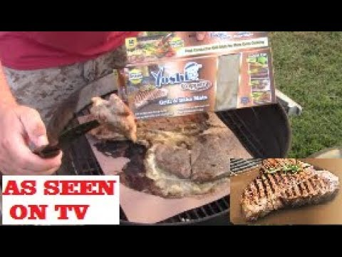 Yoshi Copper Grilling Mat Review On Weber Grill Does It Work