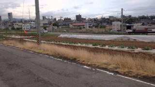 拡幅工事@県道296号線(安積街道)/奥羽大学付近 14.5.22(木)