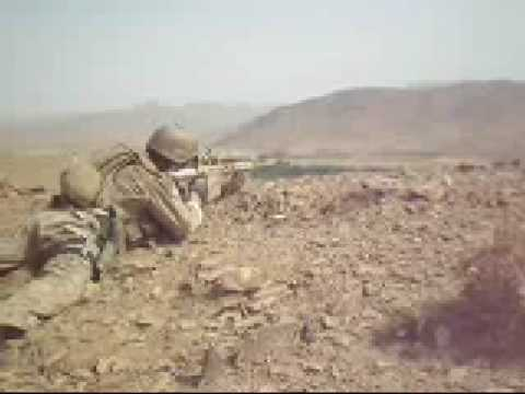 2/7 Marines in a Firefight with the Taliban in Farah Afghanistan