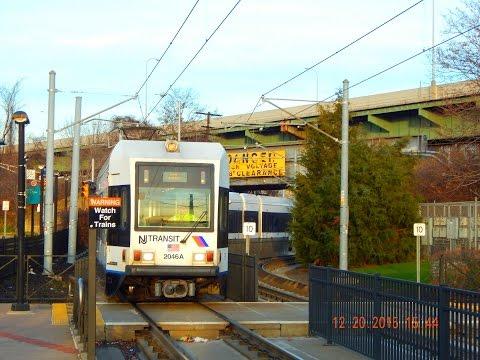 🚊/💺 New Jersey Transit: Hudson-Bergen Light Rail to 8th Street - Bayonne... FULL RIDE!