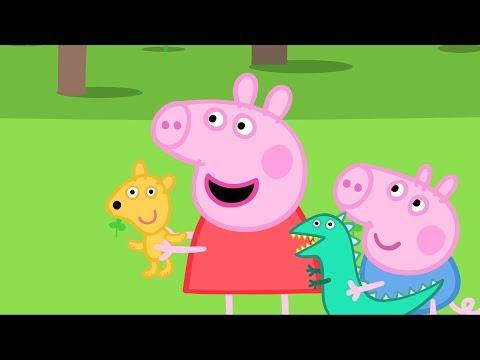 Peppa Pig em Português | O Passeio do Teddy | Compilação de episódios | Desenhos Animados