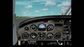 FSX Carenado PA-34 Seneca II Test Flight