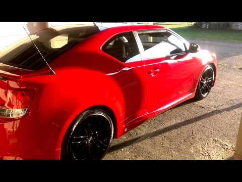 Tricked Out Scion Tc >> 2011 SCION TC 'BLACK MAMBA' | Doovi