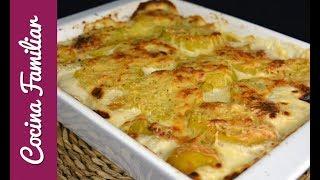 Patatas gratinadas al estilo dauphinoise | Recetas caseras de Javier Romero paso a paso