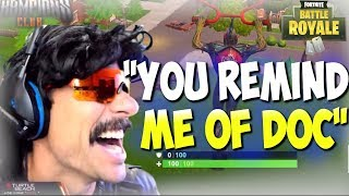 """""""YOU REMIND ME OF DOC! """" DrDisRespect Playing Random Duos on Fortnite (7/18/18) (1080p60)"""