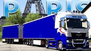 EURO TRUCK SIMULATOR 2 VR - EN ROUTE POUR PARIS !