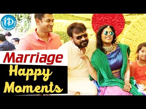 Chiranjeevi's Daughter Srija Marriage - Happy Moments || IDream Filmnagar
