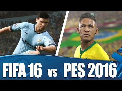FIFA 16 vs PES 2016 - We've played them both!