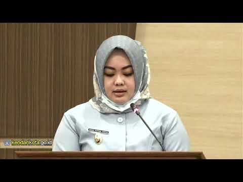 Wakil Wali Kota Kendari Jawab Pertanyaan Anggota DPRD Tentang APBD Tahun 2021