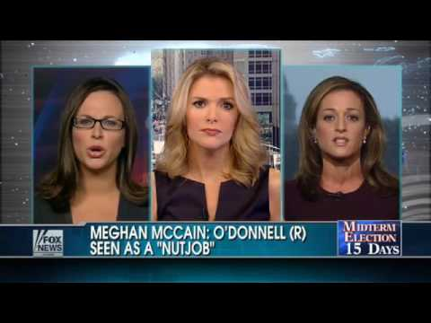 Meghan McCain Labels O'Donnell a 'Nutjob'