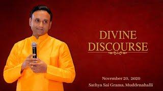 Divine Discourse by Sadguru Sri Madhusudan Sai - 20 November 2020, Athi Rudra Maha Yagna