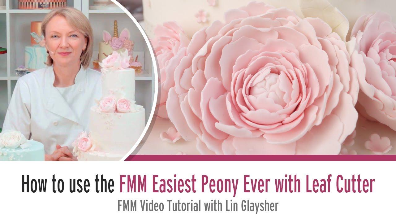 FMM Sugarcraft Easiest Peony Ever