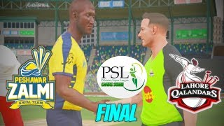 FINAL PSL GAMING SERIES 1st EDITION - LAHORE QALANDARS v PESHAWAR ZALMI
