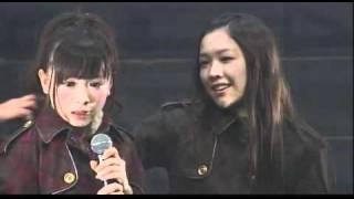 SKE48のライブの小芝居です。