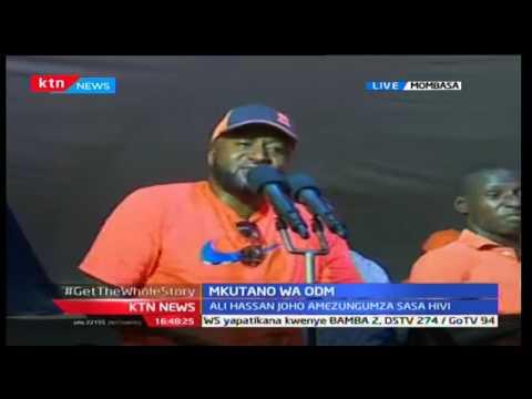 How DP William Ruto hijacked Kilifi program, and Governor Kingi had to watch in shock
