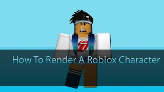 Roblox Tutorial | How to Render A Roblox Character in Blender