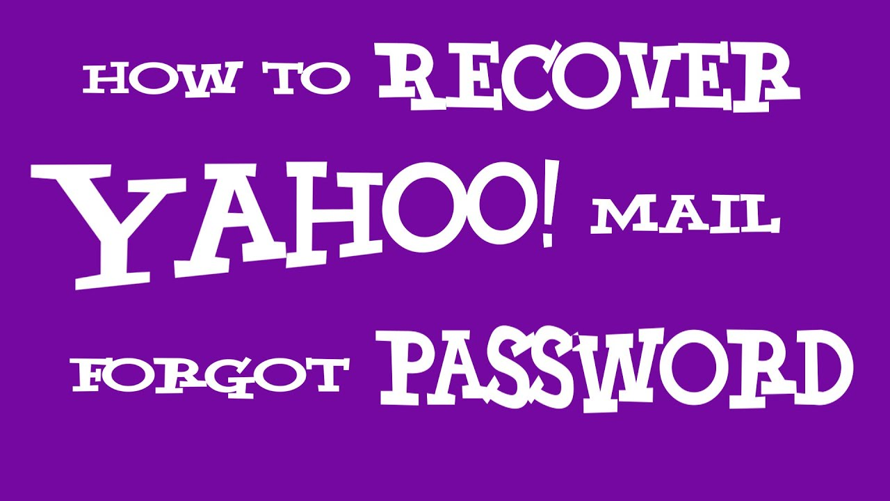 How to recover yahoo account password without phone number youtube.
