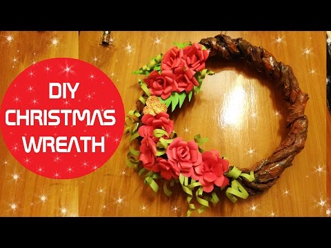 CHRISTMAS WREATH FROM PAPER | EASY CHRISTMAS CRAFT 🎅🎄