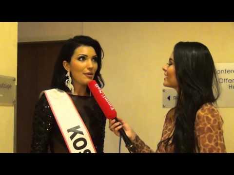 Miss Intercontinental 2015 - Miss Kosovo Interview