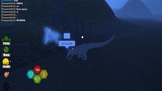 Roblox | Dinosaur Simulator | OMG I JUST FOUND AN WYVERN! OMG!!! | 2017