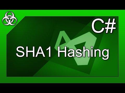 SHA1 Hashing with Salt in C# Tutorial