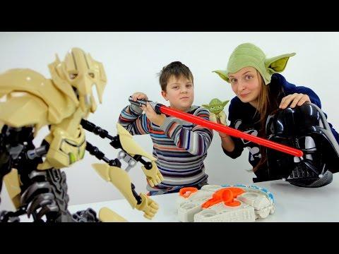 Обзор игрушек Star Wars и краткое содержание фильма Звездные войны.