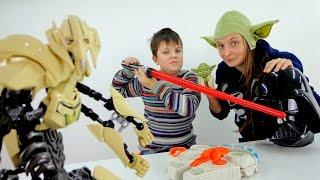 Обзор игрушек и краткое содержание фильма Звездные войны.
