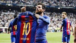 Messi goals- fc barcelona -laliga & champions league 2017/18