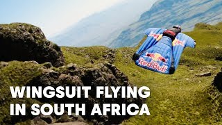 Red Bull Air Force BASE Jumps In South Africa