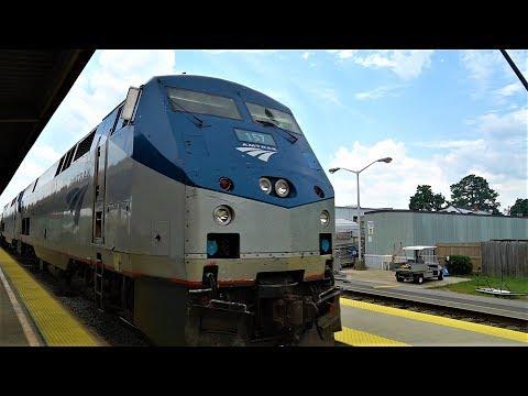 Amtrak Silver Star - Richmond, VA To Philadelphia, PA - August 2018