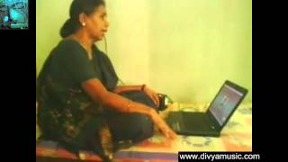 Carnatic Vocal beginners lessons online Skype video Learn Indian Carnatic music singing Teachers