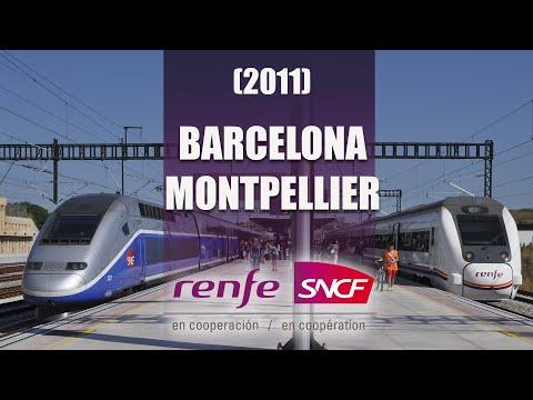 ESPAÑA a FRANCIA en tren (RENFE-SNCF) 2011 (HD)