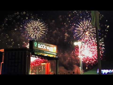 Implosion of the Riviera Hotel & Casino in Las Vegas 2016