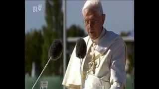 Papst Benedikt XVI. in Bayern (1: Ankunft in München), 1/3