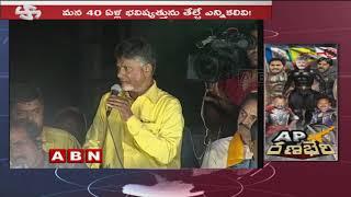AP CM Chandrababu Naidu Sensational Comments On YS Jagan | ABN Telugu