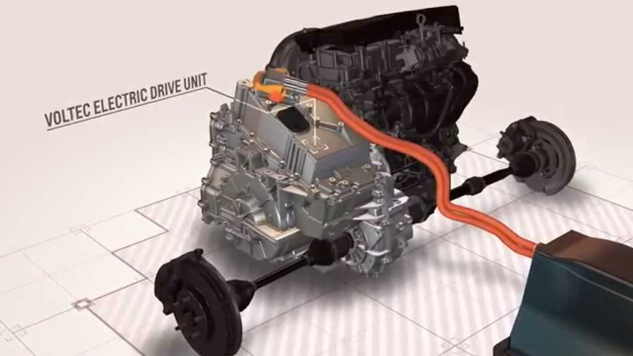 Next Gen Chevrolet Volt Powertrain Youtube