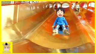 Indoor Playground Learn Colors Family Kids FunSlide Rainbow Colors Ball for Play | MariAndKids Toys