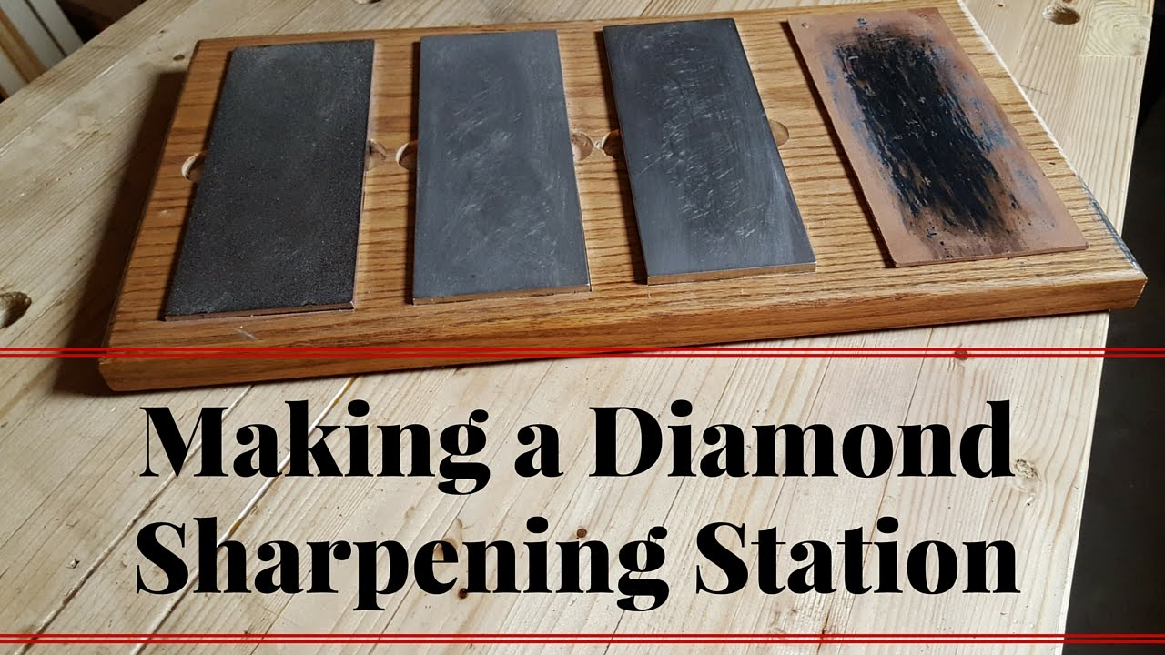 How To Make A Sharpening Station For Dmt Diamond Stones