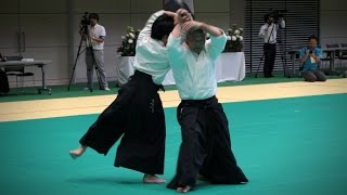 Etsuji Horii - Demonstration - 12th International Aikido Federation Congress (2016)