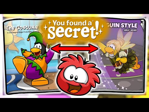 👑 New Penguin Style SECRETS + Stage Play & Shrimp Pin! (July 2020) 🐲 | Club Penguin Rewritten