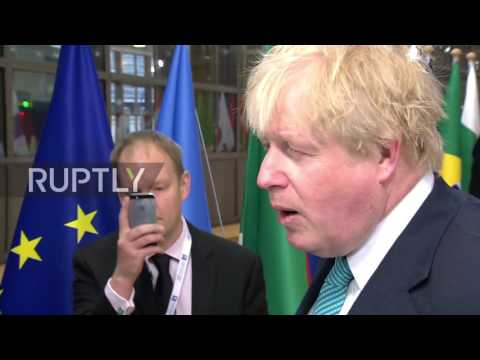 Belgium: Idlib 'chemical attack' tops agenda at EU Syrian Donors Conference