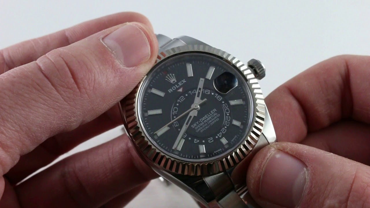 Pre Owned Rolex Sky Dweller 326934 Luxury Watch Review