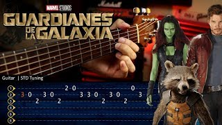 Guardians of the Galaxy - Come and Get Your Love Guitar Tutorial TABS | Cover Guitarra Christianvib